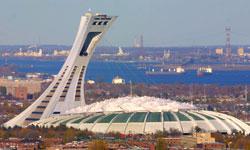 Montreal The Olympic Stadium